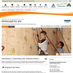 Familienurlaub - Balingen-Lochen: Kletterspaß für alle