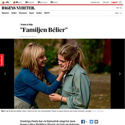 """Familjen Bélier"""