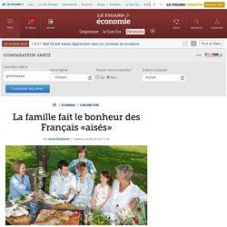 La famille fait le bonheur des Français «aisés»