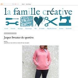 La famille créative: Jasper Sweater de sportive