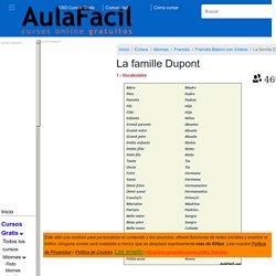 ▷ La famille Dupont - Francés Básico con Videos