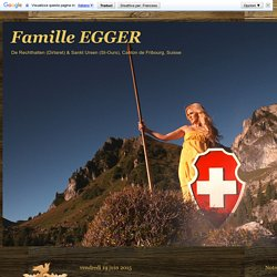 Famille EGGER: L'ABC des générations X Y Z
