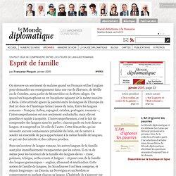 Esprit de famille, par Françoise Ploquin