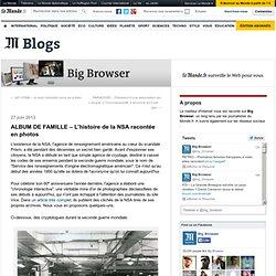 ALBUM DE FAMILLE – L'histoire de la NSA racontée en photos