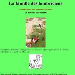 la famille des lombriciens