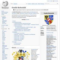 Famille Rothschild