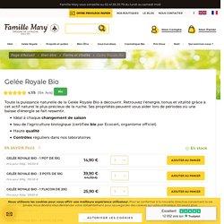 Famille Mary - Gelée royale bio > pot de 10g - Famille Mary apiculteur depuis 1921