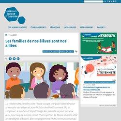 Les familles de nos élèves sont nos alliées - Mission laïque française