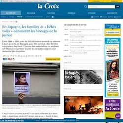 En Espagne, les familles de « bébés volés » dénoncent les blocages de la justice