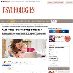 Les familles monoparentales en France