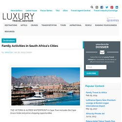 Family Activities in South Africa's Cities