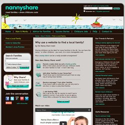 Nanny Share: Find a Family, Childcare Jobs, Nanny Agency Discount