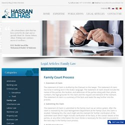 Family Law - Family Court Process