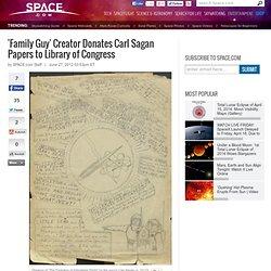 'Family Guy' Creator Donates Carl Sagan Papers