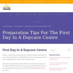 Long Daycare - Sunny Kids Childcare