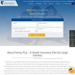 Family Floater Health Insurance Plan Online