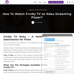 Watch Family-Friendly TV Live and On Demand on Roku
