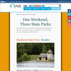 3 Great State Parks