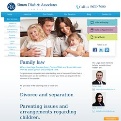 Custody Problems? Hire Family Lawyers in Sydney
