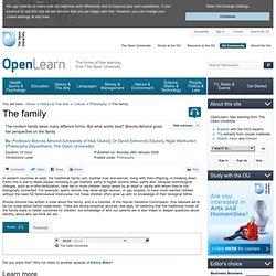BBC/OU Open2.net - Family & Child Development - The Family