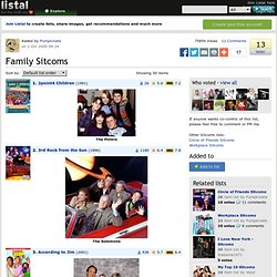 Family Sitcoms list