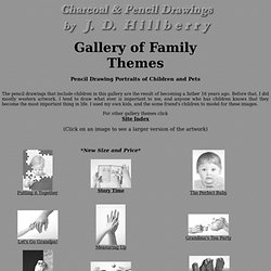 Family Themes - Pencil Drawing Gallery