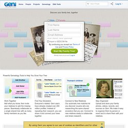 Family Tree - Free Family Trees and Family History