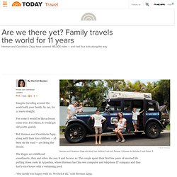 Are we there yet? One family's 11-year road trip - todaytravel - Family