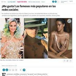 ¡Me gusta! Los famosos más populares en las redes sociales - 18.06.2016 - LA NACION