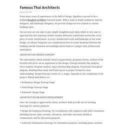 Bangkok Architect