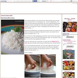 Mon famous Riz au Coco - Cuisine métisse