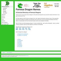 Images of Legendary Dragon Names - #rock-cafe
