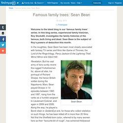 Famous family trees: Sean Bean