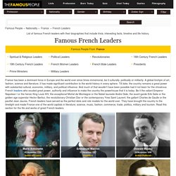 Famous French Leaders