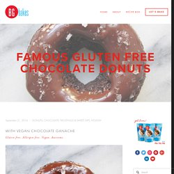 Famous Gluten Free Chocolate Donuts — BG BAKES