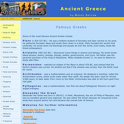 Famous Greeks - Ancient Greece for Kids