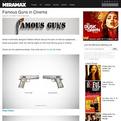 Famous Guns in Cinema