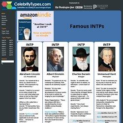 Famous INTPs