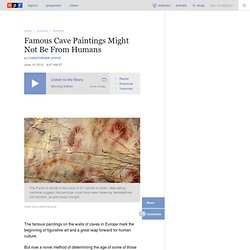 Famous Cave Paintings Might Not Be From Humans