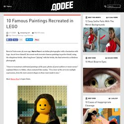 10 Famous Paintings Recreated in LEGO (Famous Paintings, Lego Paintings)