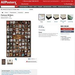 Famous Writers - Bilder på AllPosters.se
