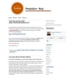 Fanchon Pradalier-Roy