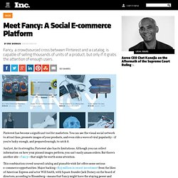 Meet Fancy: A Social E-commerce Platform