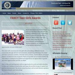 FANCY Teen Girls Awards