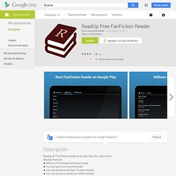 ReadUp Free FanFiction Reader