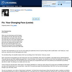 vc_fanfiction: Fic: Your Changing Face (Lestat)