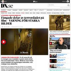 Fångade delar av terrordådet på film – VARNING FÖR STARKA BILDER