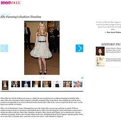 Elle Fanning's Fashion Timeline