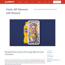 Fanta: AR Takeover with Shazam