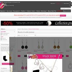 Boucles d'oreilles fantaisie pas cher : vente en gros et à l'unité de boucles d'oreilles fantaisie – bijoux-mode-grossiste - Grossiste-bijouxmode
